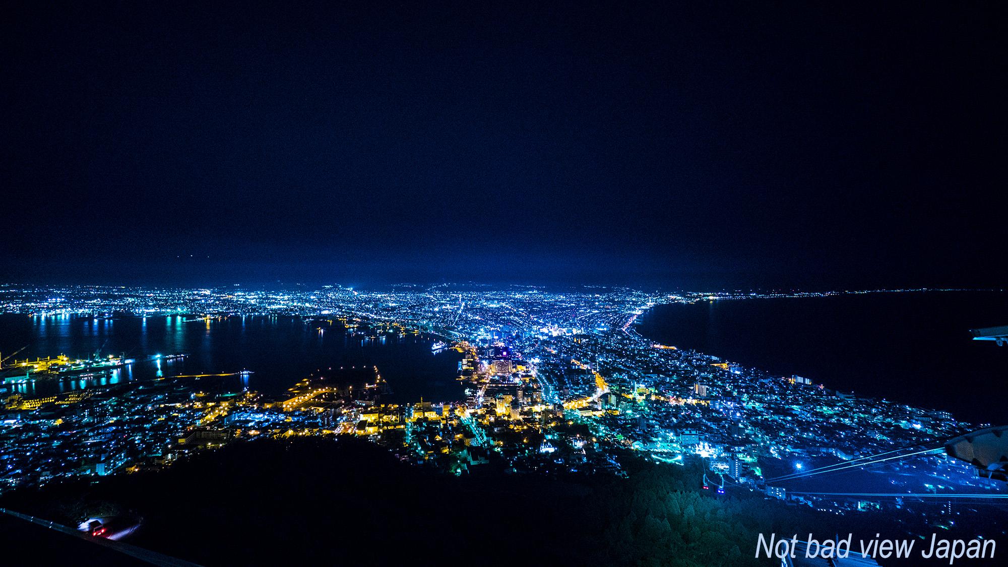 函館山 夜景 日本三大夜景 – 日...