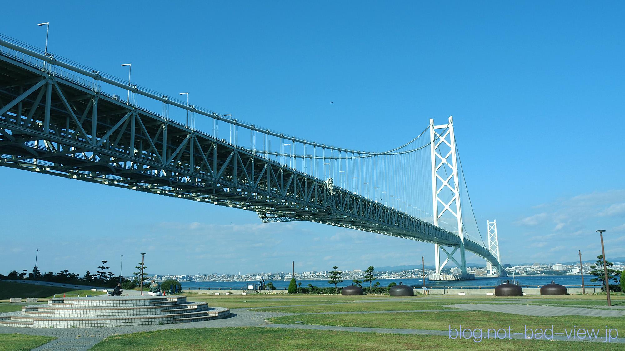 明石海峡大橋 – 日本の絶景撮影スポット!Lucky View!!